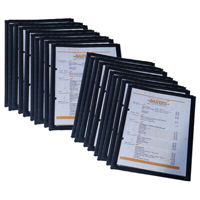 A5 Cafe Menu Folders With 2 Pages Bulk Pack 30