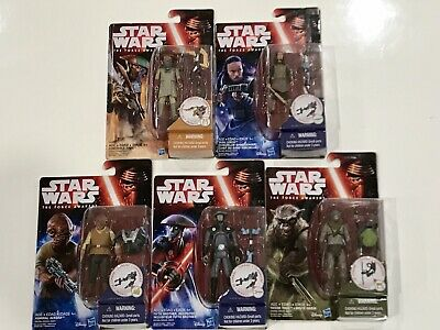 """Star Wars The Force Awakens 3.75"""" Action Figure 5 SETs."""
