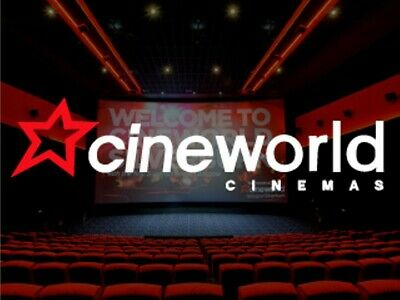 6x Cineworld standard Cinema tickets - Sundays Only - Fast delivery by email