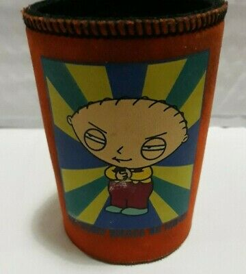 """Family Guy Stewie Griffin """"Victory Shall Be Mine!"""" Stubby / Can Holder"""