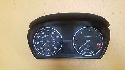 Bmw E90 Engine N47D20A 320D 05-2008 Manual Speedometer Clock Instrument Cluster