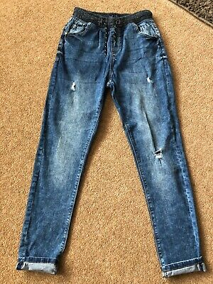 Boys Next Loose Fit Skinny Jeans With Elaticated Waist Age 13 Years