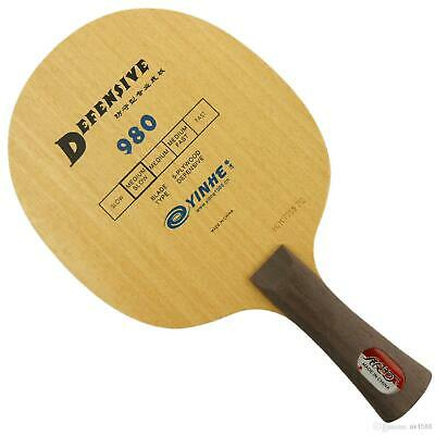 Yinhe Milky Way 980 ST Straight handle defensive Table Tennis Blade