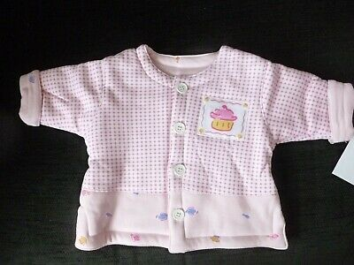 Baby Girls Pink  Padded  Cotton Jacket age 3 Months  nwt