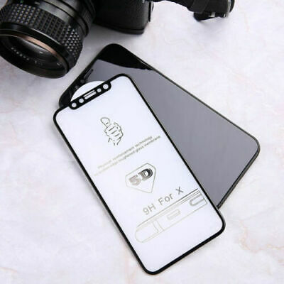 X2 Tempered glass screen protector for apple iphone X XS 5D FULL COVER