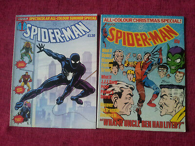 Spider-Man All Colour Christmas Special / Summer Special 1984 F/VF