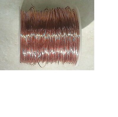 40/' FEET SOFT ANNEALED GROUND WIRE SOLID BARE COPPER 10 AWG HOBBY JEWELRY