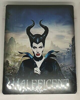 Custom Steelbook Maleficent Bluray Empty