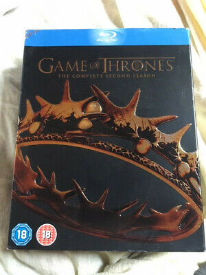 Game Of Thrones - Season 2 - Complete (Blu-ray, 2013, 5-Disc Set, Box Set)