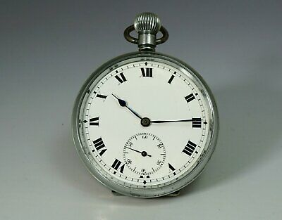 1900s Antique vintage pocket watch 10j swiss made movement