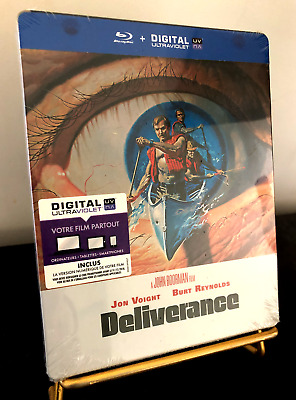 [BLU RAY]  STEELBOOK DELIVERANCE  edition française NEUF sous blister.