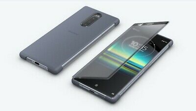 "NEW SONY SCTI30 Style Cover Touch Case for Xperia 1 One X1 J9110 6.5"" - Gray"