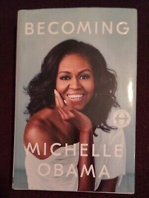 Becoming by Michelle Obama - Hardcover Dust Jacket HC DJ LIKE NEW!