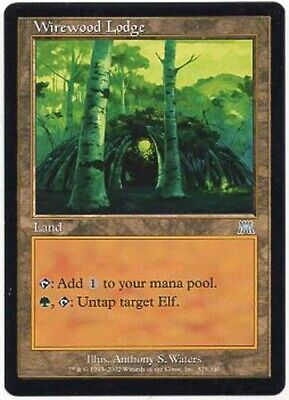 Magic Card ONS 4x MTG: Wirewood Pride Green Common Onslaught