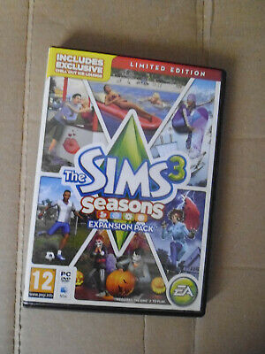 The Sims 3 Seasons Limited Edition Expansion Pack Pc/Mac