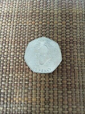 New Sherlock Holmes 2019 50p Fifty Pence Coin Rare Collectible