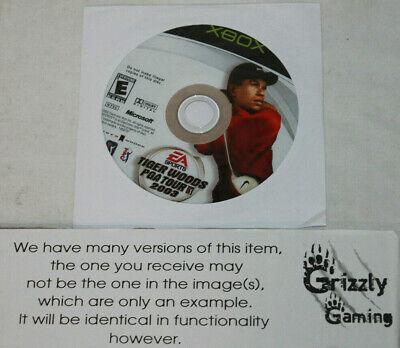 USED Tiger Woods PGA Tour 2003 Microsoft XBOX (Disc(s) Only)
