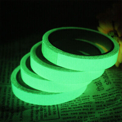 Self-adhesive Sticker Luminous Tape Glow In The Dark Safety Stage Home Decor