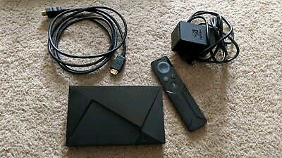 NVIDIA SHIELD TV - 4K HDR Streaming Media Player Google Assistant Black Mint!!