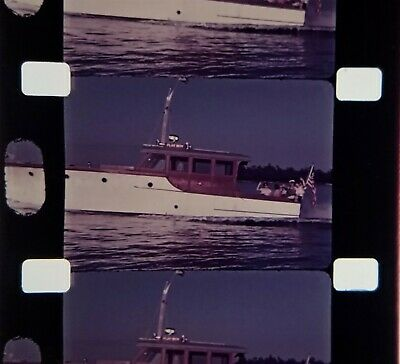"""16mm Home Movie ~ 1937 """"Playboy"""" Yacht  Easton, MD"""