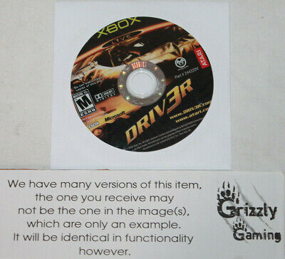 USED Driv3r Microsoft XBOX (Disc(s) Only)