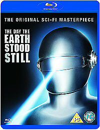 The Day The Earth Stood Still (BLU-RAY, 1951) DISC ILNC NO SLIPCOVER