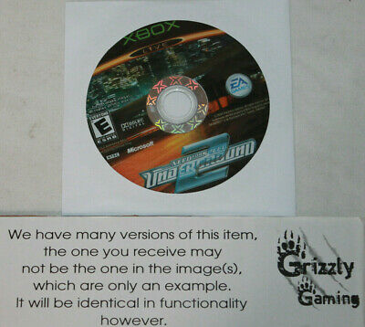 USED Need For Speed: Underground 2 Microsoft XBOX (Disc(s) Only)