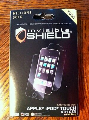 Zagg Invisible Shield for the iPod. Brand New.
