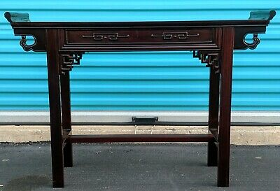 Beautiful vintage/antique Chinese Altar Table! Rosewood? Zitan?