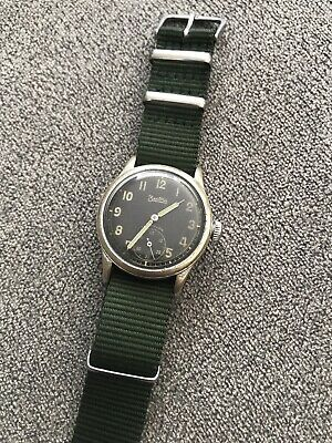 Rare Zentra Wehrmacht Dienstuhr Luftwaffe World War 2 Air Force Military Uhr