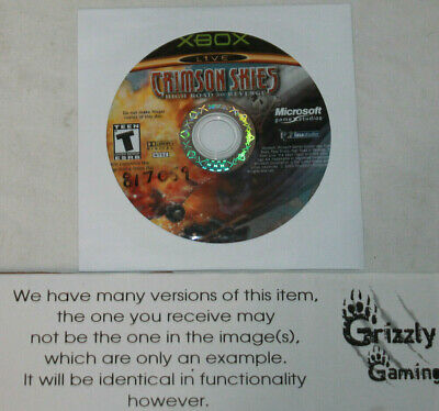 USED Crimson Skies: High Road to Revenge Microsoft XBOX (Disc(s) Only)