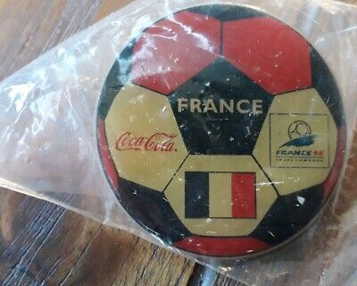 Pins Football Ballon Coca Cola France 98 World Cup Equipe France