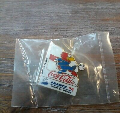 Pins Football Footix Coca Cola France 98 World Cup Equipe Angleterre