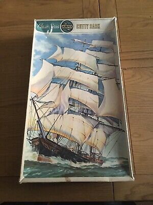 VINTAGE AIRFIX CUTTY Sark 1869 Classic Series 9 Code 09253-9 Cat No 903  Pre1970