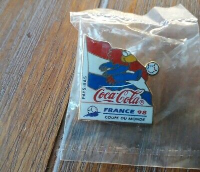 Pins Football Footix Coca Cola France 98 World Cup Equipe Pays -Bas