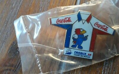 Pins Football Footix Coca Cola France 98 World Cup Maillot