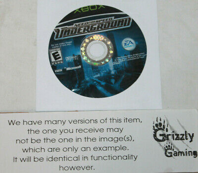 USED Need for Speed: Underground Microsoft XBOX (Disc(s) Only)