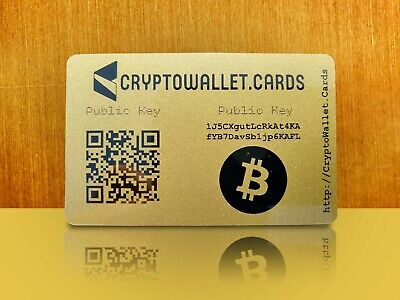 BITCOIN Crypto Wallet Cards