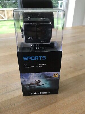 4K Ultra HD Sports Camera Action Camcorder 1080P DVR Video Recorder Wifi Remote