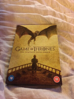 Game of Thrones: The Complete Fifth Season (DVD, 2016)