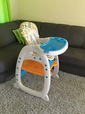 FoxHunter Baby Highchair Infant High Feeding Seat 3in1 Toddler Table Chair