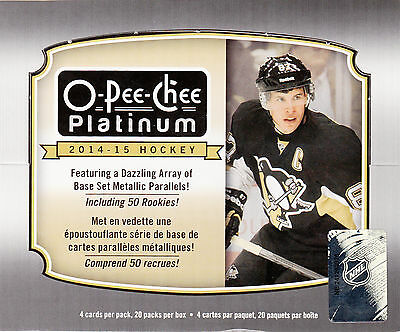 OPC Platinum 2014-15 Choose Base,Rookies,Retro, SEND ME YOUR WANT LIST!