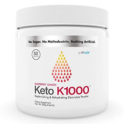 Keto K1000 Electrolyte Powder | Boost Energy & Beat Leg Cramps | No Maltodextrin