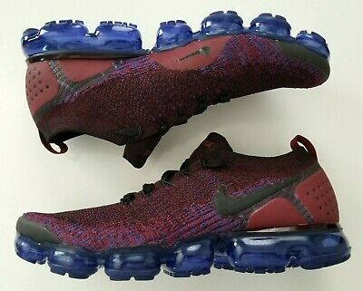 NIKE AIR VAPORMAX FLYKNIT 2 'Team Red'  Men's Running Shoes  942842 006  Size 12