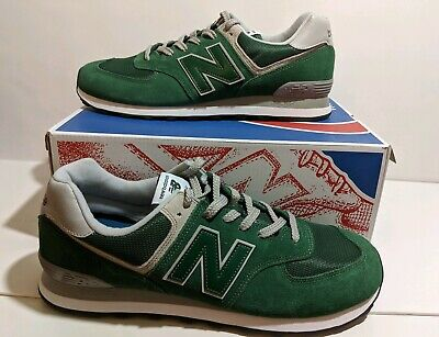 NEW BALANCE CLASSICS Forest GreenWhiteGreyBlack ML574EGR Men's Size 13