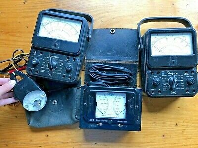 (2) Excellent Condition! Simpson Model 260 Series 3 and Series 4 Plus MORE!!