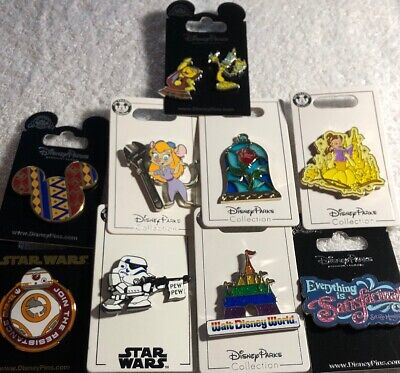 Disney Authentic 10 Pin Trading/collector Pin Set (  A - 36 )