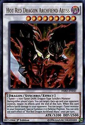 Yugioh Hot Red Dragon Archfiend Abyss HSRD-EN041 1st Edition NM