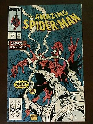 Amazing Spiderman #302 NM, Silver Sable App, Early Todd McFarlane art, Movie