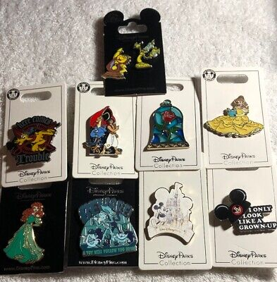 Disney Authentic 10 Pin Trading/collector Pin Set (  A - 37 )